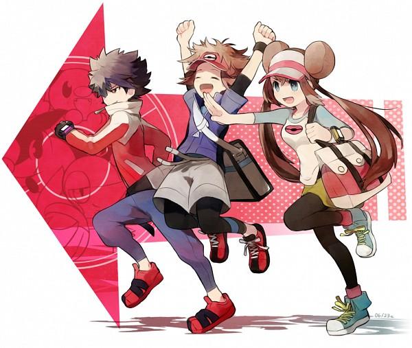 Tags: Anime, Noe Yuuhi, Pokémon, Kyouhei, Hue, Mei (Pokémon), Fanart, Pixiv, Fanart From Pixiv