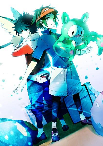 Tags: Anime, Sekimo, Pokémon, Koffing, Hue, Kyouhei, Tranquill, Reuniclus, Seviper, Leggings, Fanart From Pixiv, Pixiv, Mobile Wallpaper