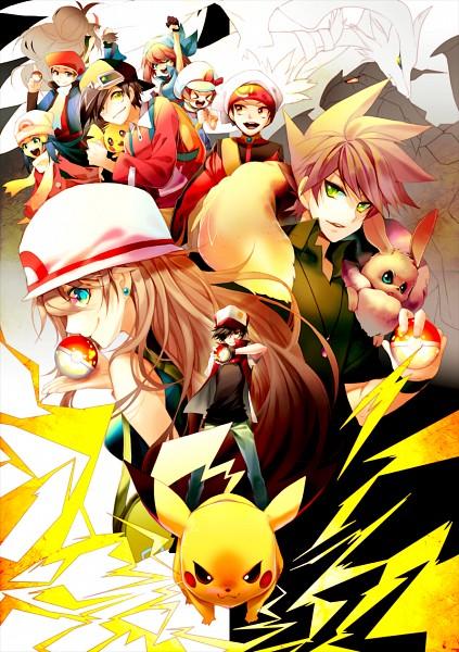 Tags: Anime, NINE (Sapphire), Pokémon SPECIAL, Pokémon, Haruka (Pokémon), Pichu, Red (Pokémon), Hikari (Pokémon), Yuuki (Pokémon), Kotone (Pokémon), Zekrom, Pikachu, Kouki (Pokémon)