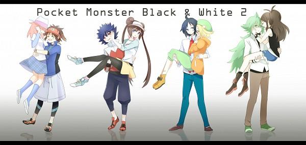 Tags: Anime, Sekimo, Black and White 2, Pokémon, Mei (Pokémon), Cheren (Pokémon), N (Pokémon), Touko (Pokémon), Ruri (Pokémon), Kyouhei, Hue, Bel (Pokémon), Facebook Cover