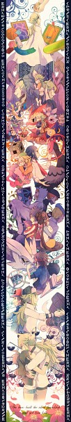 Tags: Anime, Kabocha Torute, Black and White 2, Pokémon, Sigilyph, Concordia, Woobat, Darumaka, Unfezant, Bel (Pokémon), G-Cis Harmonia, Anthea (Pokémon), Pidove