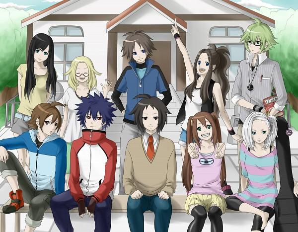 Tags: Anime, Marichi, Black and White 2, Pokémon, N (Pokémon), Hue, Kamitsure, Touko (Pokémon), Mei (Pokémon), Kyouhei, Homika, Bel (Pokémon), Touya (Pokémon)