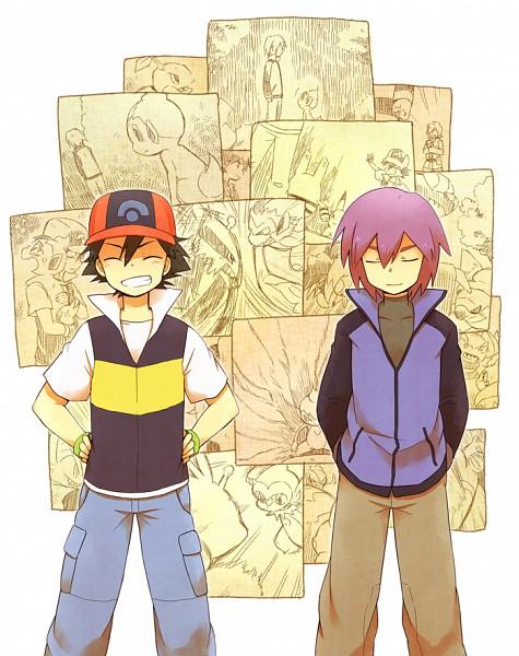 Tags: Anime, Clunker, Pokémon, Monferno, Pikachu, Shinji (Pokémon), Electivire, Chimchar, Electabuzz, Turtwig, Elekid, Satoshi (Pokémon), Pixiv