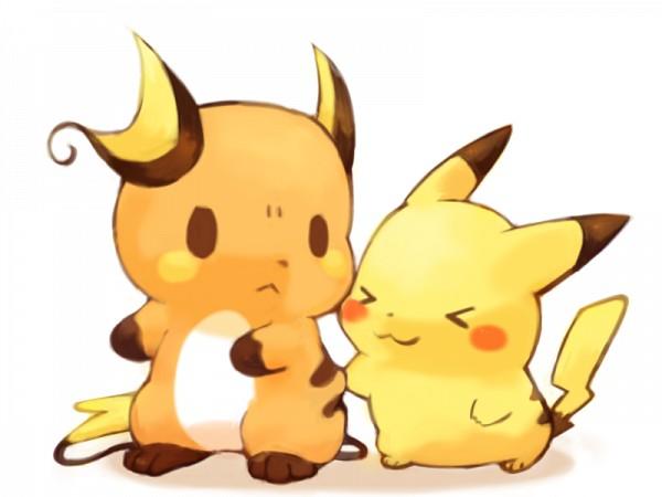 Tags: Anime, Mochi-san (Mangaka), Pokémon, Raichu, Pikachu, Fanart, Pixiv, Fanart From Pixiv