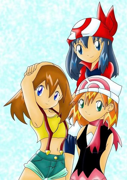 Tags: Anime, Pokémon, Haruka (Pokémon), Hikari (Pokémon), Kasumi (Pokémon), Kasumi (Pokémon) (Cosplay), Haruka (Pokémon) (Cosplay), Hikari (Pokémon) (Cosplay), deviantART, Fanart From DeviantART, Fanart