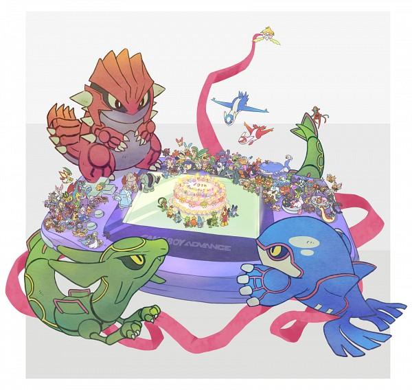 Tags: Anime, Ibui Matsumoto, Pokémon, Swablu, Wurmple, Metagross, Cradily, Combusken, Grumpig, Lotad, Poochyena, Spoink, Shiftry
