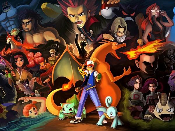 Tags: Anime, Jasonwang7, Pokémon, Matis, Wataru (Pokémon), Katsura (Pokémon), Kikuko (Pokémon), Shiba (Pokémon), Kyou (Pokémon), Sakaki (Pokémon), Natsume (Pokémon), Kanna (Pokémon), Downscale