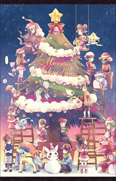 Tags: Anime, Kabocha Torute, Pokémon, Touko (Pokémon), Meloetta, Jirachi, Deoxys, Haruka (Pokémon), Touko, Keldeo, Leaf (Pokémon), Victini, Mei (Pokémon)