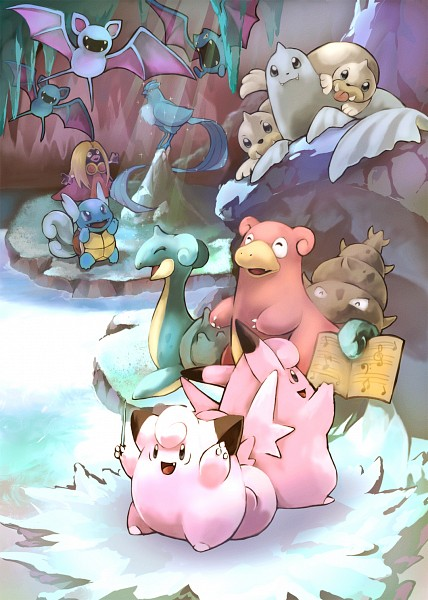 Tags: Anime, Toneko, Pokémon, Articuno, Zubat, Golbat, Jynx, Lapras, Seel, Wartortle, Dewgong, Clefable, Clefairy