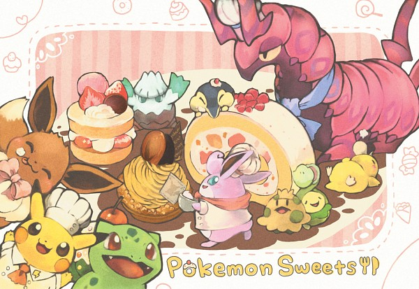 Tags: Anime, Toneko, Pokémon, Eevee, Budew, Psyduck, Wigglytuff, Pikachu, Scolipede, Bulbasaur, Shroomish, Cyndaquil, Snover