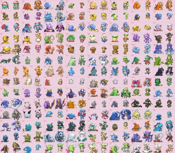 Tags: Anime, Pokémon, Flaaffy, Shaymin, Gyarados, Jumpluff, Teddiursa, Abomasnow, Manaphy, Zigzagoon, Jolteon, Buizel, Croconaw