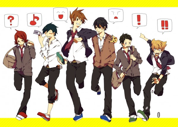 Tags: Anime, Yuuichi Bobobo, Pokémon, Hibiki (Pokémon), Kouki (Pokémon), Green (Pokémon), Red (Pokémon), Silver (Pokémon), Jun (Pokémon), Pixiv, Fanart From Pixiv, Fanart