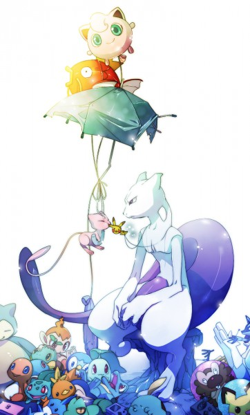 Tags: Anime, Akezu, Pokémon, Lucario, Snorlax, Cyndaquil, Treecko, Squirtle, Turtwig, Magikarp, Chikorita, Torchic, Bibarel