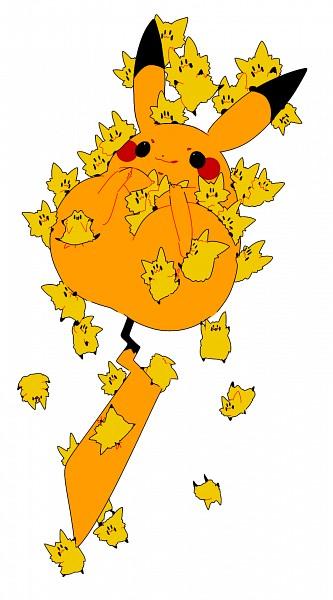 Tags: Anime, Pixiv Id 260451, Pokémon, Pikachu, Joltik, Mobile Wallpaper