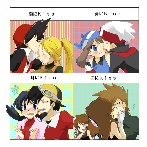 Tags: Anime, Pixiv Id 786599, Pokémon SPECIAL, Pokémon, Gold (Pokémon SPECIAL), Red (Pokémon SPECIAL), Odamaki Sapphire, Yellow (Pokémon Special), Ruby (Pokémon SPECIAL), Green Oak (Pokémon SPECIAL), Crystal (Pokémon SPECIAL), Blue (Pokémon SPECIAL), RuSa