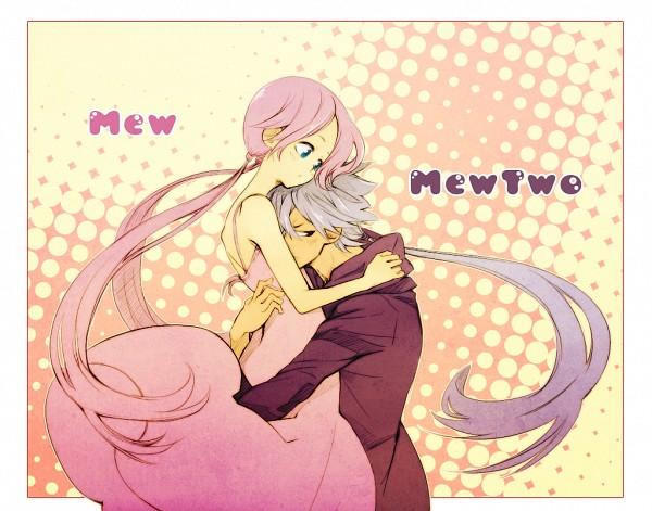 Tags: Anime, Kibou87, Pokémon, Mewtwo, Mew, Legendary Pokémon, Fanart, deviantART