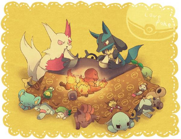 Tags: Anime, Tore (ksg666xx), Pokémon, Chimecho, Budew, Shaymin, Charmander, Diglett, Riolu, Shinx, Chimchar, Lucario, Chingling