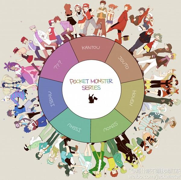 Tags: Anime, Pixiv Id 3556325, Pokémon, Takeshi (Pokémon), Hue, Red (Pokémon), Ran (Pokémon), Hibiki (Pokémon), Denji (Pokémon), Bel (Pokémon), Mei (Pokémon), Mikan (Pokémon), Yuuki (Pokémon)
