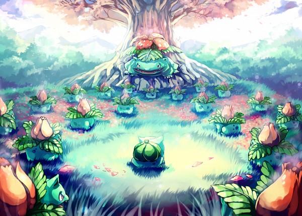 Tags: Anime, Sa-dui, Pokémon, Bulbasaur, Venusaur, Ivysaur, deviantART, Fanart From DeviantART, Fanart