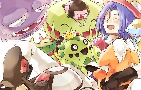 Tags: Anime, Usao (313131), Pokémon, Mime Jr., Cacnea, Amoonguss, Weezing, Chimecho, Yamask, Kojirou (Pokémon), Growlithe, Victreebel, Carnivine