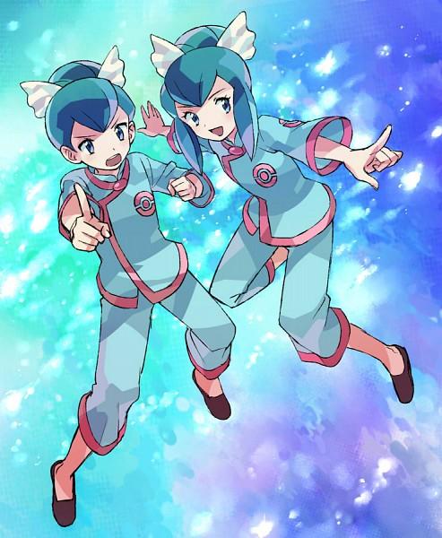 Tags: Anime, Pixiv Id 1448779, Pokémon, Fuu (Pokémon), Ran (Pokémon), Fanart, Pixiv, Fanart From Pixiv