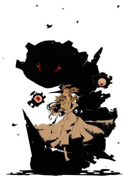 Tags: Anime, Hiiragi Yuki, Pokémon, Steelix, Mikan (Pokémon), Magnemite, Mobile Wallpaper