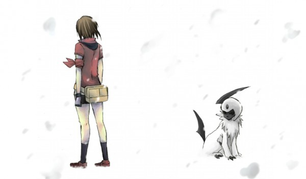 Tags: Anime, Pixiv Id 2008535, Pokémon, Absol, Haruka (Pokémon)