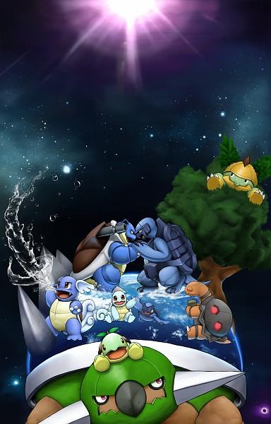 Tags: Anime, Pixiv Id 562574, Pokémon, Torterra, Grotle, Turtwig, Wartortle, Squirtle, Tirtouga, Torkoal, Carracosta, Blastoise, Fanart From Pixiv