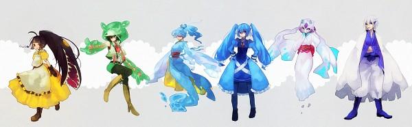 Tags: Anime, Pixiv Id 451009, Pokémon, Mawile, Lugia, Kingdra, Metagross, Reuniclus, Froslass, Legendary Pokémon