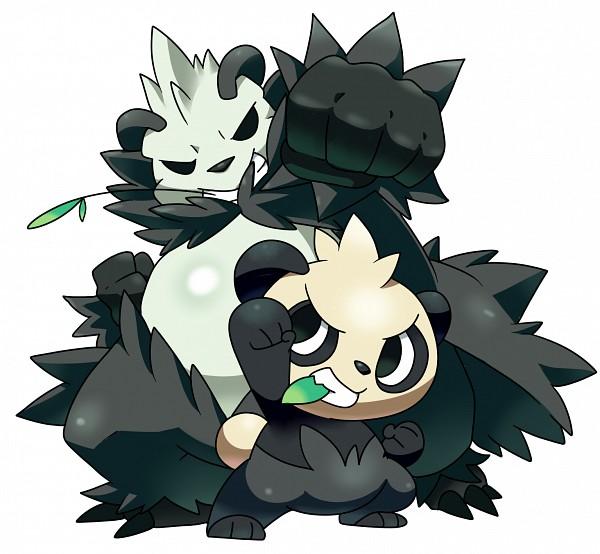 Tags: Anime, Pixiv Id 1810731, Pokémon, Pangoro, Pancham, Fanart From Pixiv, Pixiv, Fanart