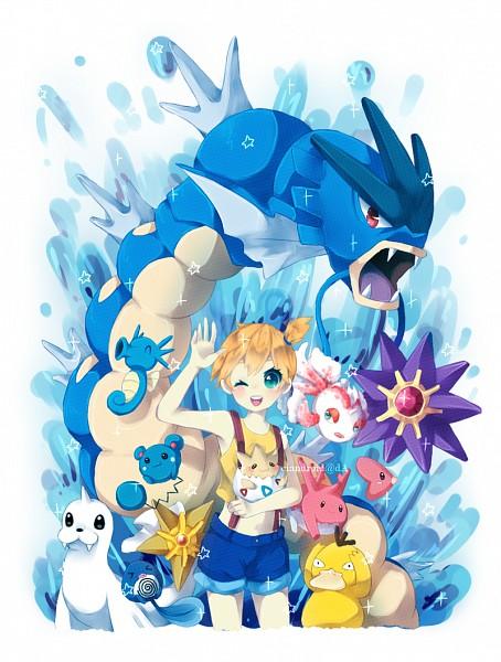 Tags: Anime, Ciandroid, Pokémon, Dewgong, Psyduck, Corsola, Luvdisc, Togepi, Starmie, Horsea, Poliwag, Azumarill, Goldeen