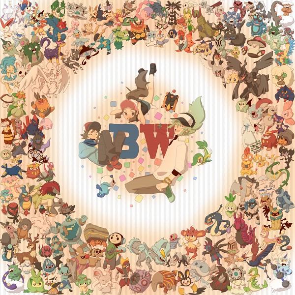 Tags: Anime, Pixiv Id 3556325, Pokémon, Munna, Simisear, Purrloin, Touya (Pokémon), Audino, Lillipup, Zoroark, Terrakion, Axew, Emboar