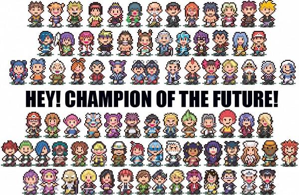 Tags: Anime, Earthbound, Pokémon, Maximum Kamen, Adeku, Sumomo (Chobits), Wataru (Pokémon), Fuu (Pokémon), Ibuki (Pokémon), Aloe (Pokémon), Kagetsu (Pokémon), Kanna (Pokémon), Dahlia (Pokémon)