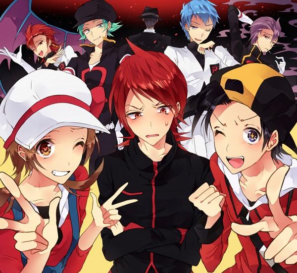 Tags: Anime, Tobari (Brokenxxx), Pokémon, Lambda (Pokémon), Silver (Pokémon), Apollo (Pokémon), Kotone (Pokémon), Athena (Pokémon), Hibiki (Pokémon), Lance (Pokémon), Fanart, Fanart From Pixiv, Pixiv