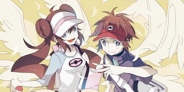 Tags: Anime, Pixiv Id 3390462, Pokémon, Kyouhei, Mei (Pokémon), Fanart, Fanart From Pixiv, Facebook Cover, Pixiv