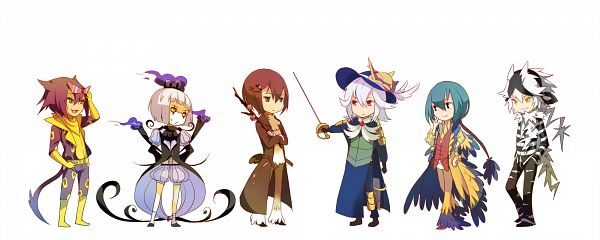 Tags: Anime, Imiya Kaminari, Pokémon, Archeops, Zebstrika, Chandelure, Liepard, Sawsbuck, Samurott, Yellow Handwear, Rapier, Yellow Gloves, Fanart From Pixiv