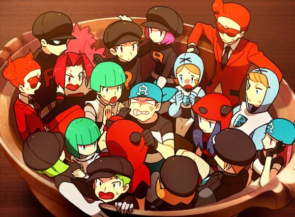 Tags: Anime, Onuko (Pixiv1861313), Pokémon, Team Aqua Underling (Female), Team Magma Underling, Team Galactic Underling (Male), Flare-dan Shitappa (Male), Plasma-dan Shitappa (Male), Team Rocket Underling (Female), Team Galactic Underling (Female), Plasma-dan Shitappa (Female), Team Rocket Underling (Male), Team Aqua Underling (Male)