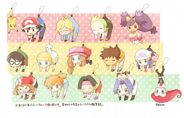 Tags: Anime, May (Pixiv Id 233774), Pokémon, Kojirou (Pokémon), Eureka (Pokémon), Takeshi (Pokémon), Kenji (Pokémon), Musashi (Pokémon), Citron (Pokémon), Satoshi (Pokémon), Masato (Pokémon), Haruka (Pokémon), Serena (Pokémon)
