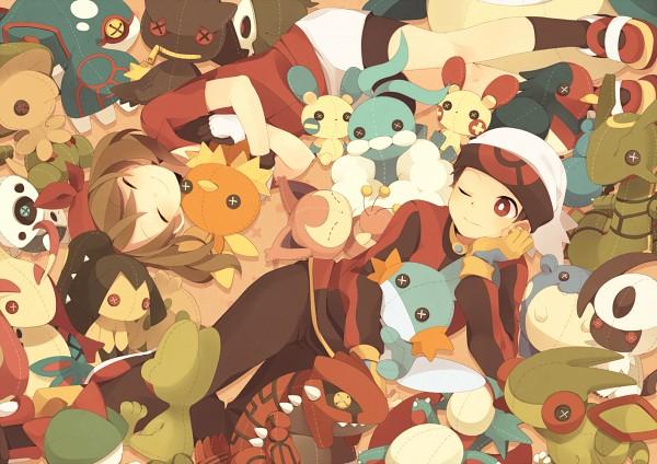 Tags: Anime, Painapparu, Pokémon, Aron, Flygon, Spheal, Minun, Absol, Milotic, Wailmer, Haruka (Pokémon), Salamence, Plusle