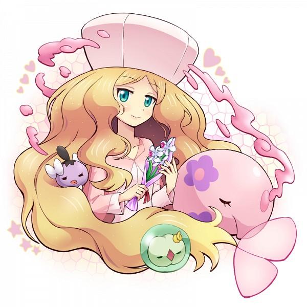 Tags: Anime, Soara, Pokémon, Gothita, Solosis, Munna, Cattleya, Pixiv, Fanart, Fanart From Pixiv, PNG Conversion