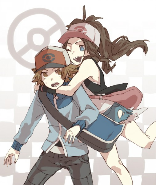 Tags: Anime, Pokémon, Touya (Pokémon), Touko (Pokémon)