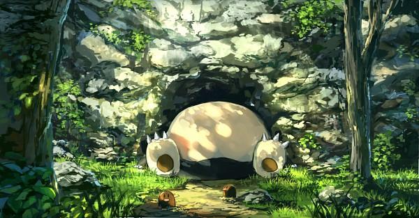 Tags: Anime, Pixiv Id 1922055, Pokémon, Snorlax, Diglett, Facebook Cover, Pixiv, Fanart From Pixiv, Fanart