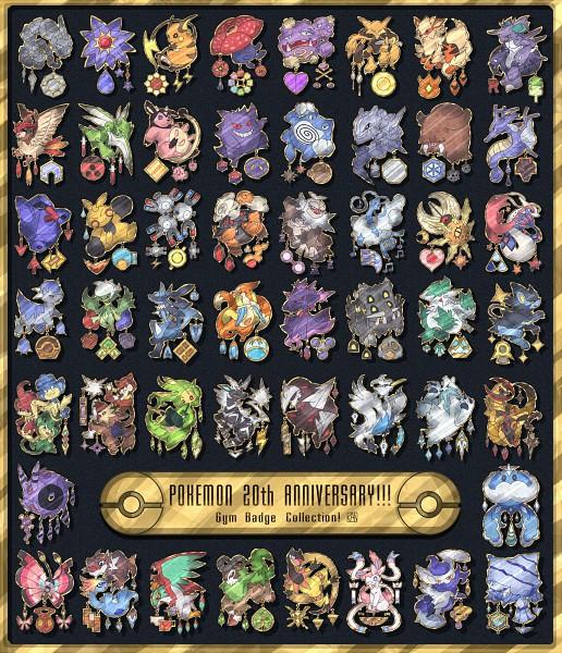 Tags: Anime, Pixiv Id 2433209, Pokémon, Gengar, Cranidos, Mismagius, Nosepass, Amaura, Haxorus, Piloswine, Excadrill, Torkoal, Gogoat