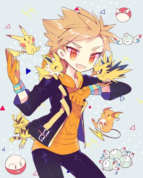 Tags: Anime, Pixiv Id 5171866, Pokémon, Magneton, Raichu, Electrode, Magnemite, Electabuzz, Jolteon, Spark (Pokémon GO), Pikachu, Voltorb, Zapdos