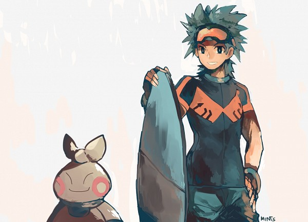 Tags: Anime, Redricewine, Pokémon, Touki (Pokémon), Makuhita, Surfboard, Fanart, Tumblr