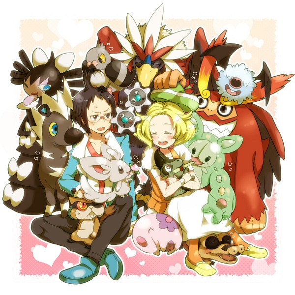 Tags: Anime, Pokémon, Gothitelle, Munna, Darmanitan, Woobat, Sandile, Minccino, Bel (Pokémon), Blitzle, Braviary, Cheren (Pokémon), Pidove