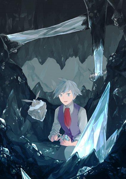 Tags: Anime, Pixiv Id 21590860, Pokémon Ruby & Sapphire, Pokémon, Carbink, Tsuwabuki Daigo, Cave, Pixiv, Fanart From Pixiv, Fanart