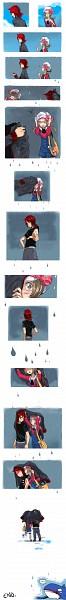Tags: Anime, Cezaria, Pokémon, Kotone (Pokémon), Silver (Pokémon), Pixiv, Comic, SilKoto