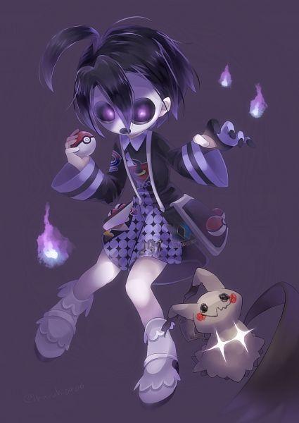 Tags: Anime, Pixiv Id 11293558, Pokémon Sword & Shield, Pokémon Ultra Sun & Moon, Pokémon Sun & Moon, Pokémon, Mimikyu, Onion (Pokémon)