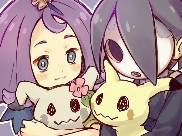 Tags: Anime, Pixiv Id 1955658, Pokémon Ultra Sun & Moon, Pokémon Sun & Moon, Pokémon Sword & Shield, Pokémon, Acerola, Onion (Pokémon), Mimikyu, Shiny Pokémon